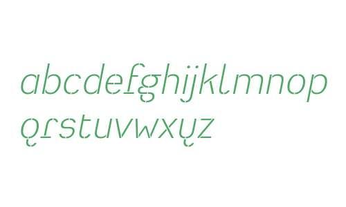 HeimatStencil-LightItalic