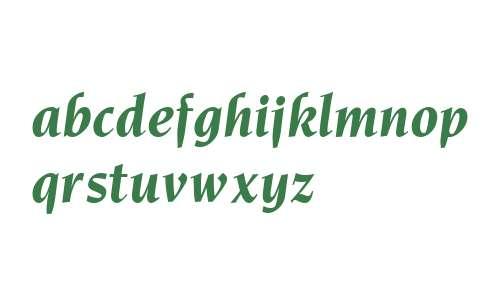 Novarese Bold Italic