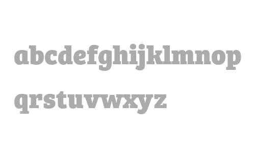 Bree Serif W04 Extrabold