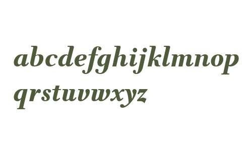 TWT Prospero W03 Bold Italic