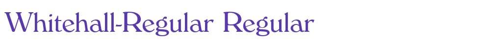 Whitehall-Regular