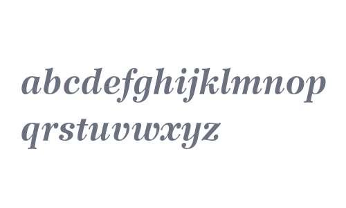 Wilke 76 Bold Italic