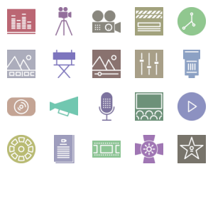 Video Production Glyph