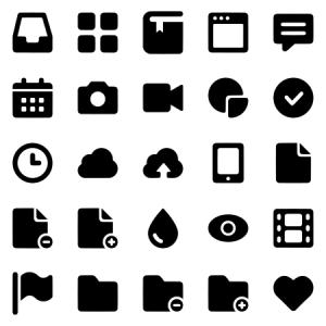Bold Icons