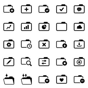 Folders Outline