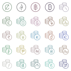 World Currency Coin