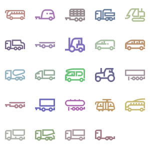 Trucks Outline