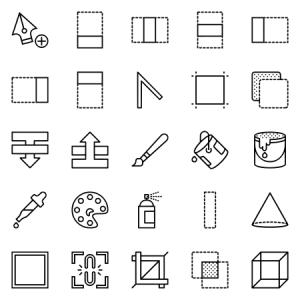 Smashicons Design Outline