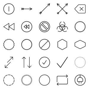 Unigrid Symbols Arrows