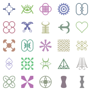Roselution S Adinkra Icons Part