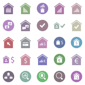 Home Sale And Equity Glyph