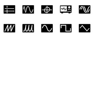 Oscilloscope Wave Form Signal Electronic