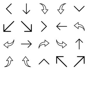 IOS Arrows