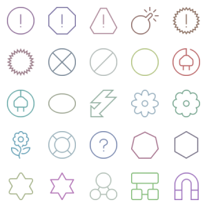 Eldorado Stroke Symbols
