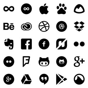 Entypo Social Extension