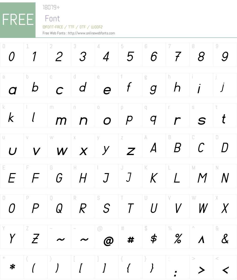 Fibel Sued Font Screenshots