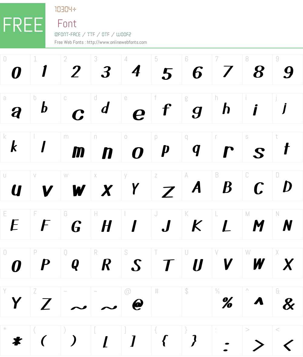 Did you see that Font Screenshots