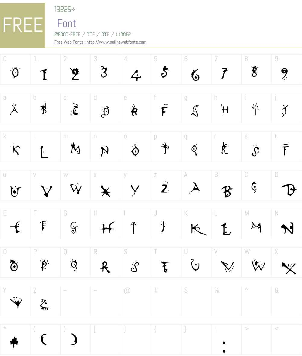 Variator Font Screenshots