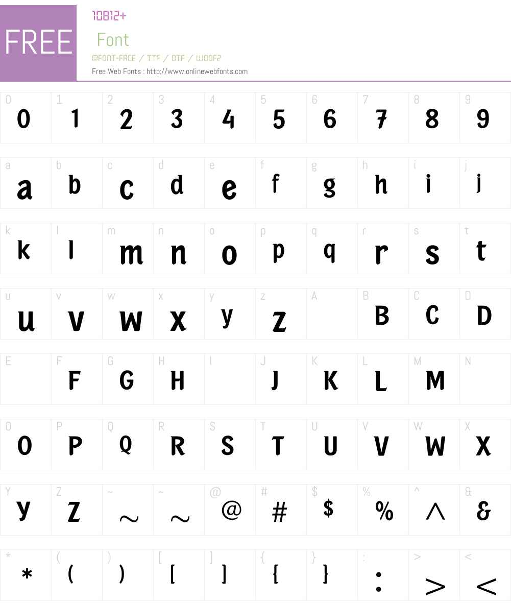 PortobelloMedium Font Screenshots