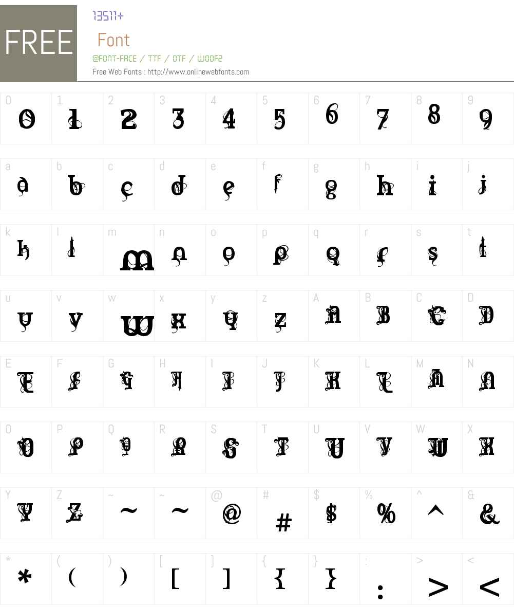 Marquis De Sade Font Screenshots