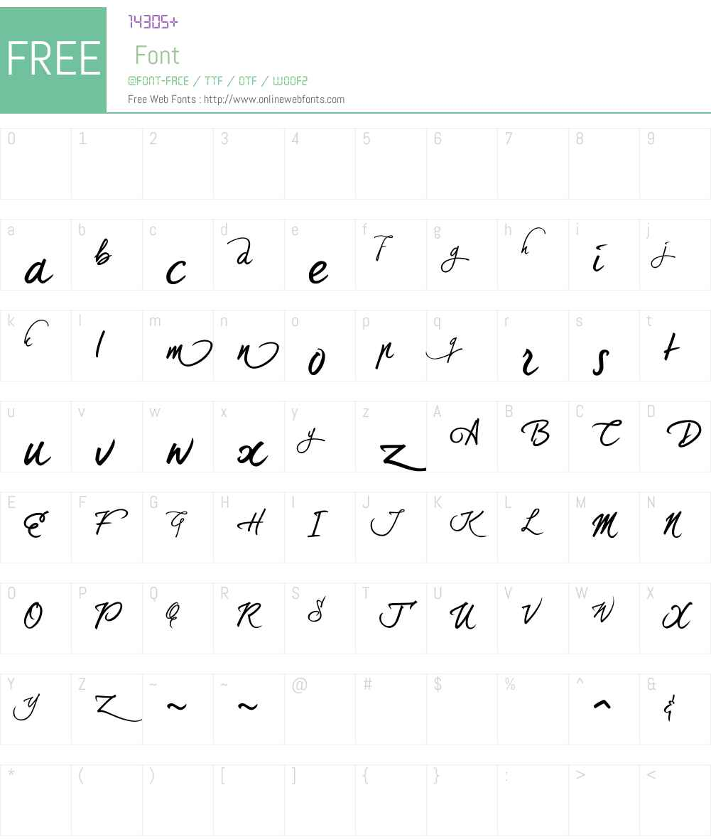 DearJoe5W90-RegAlternatives Font Screenshots