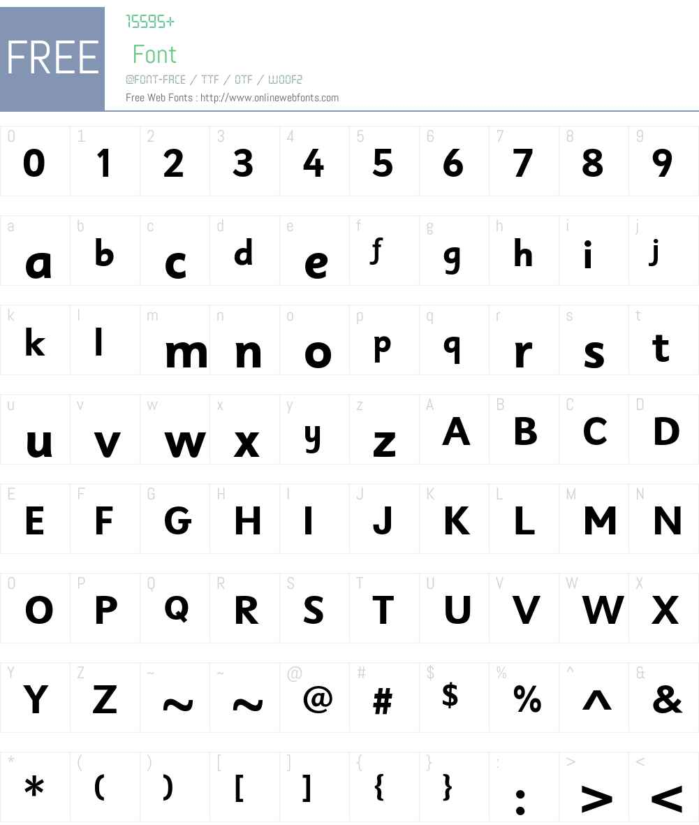 Sassoon Sans Std Font Screenshots