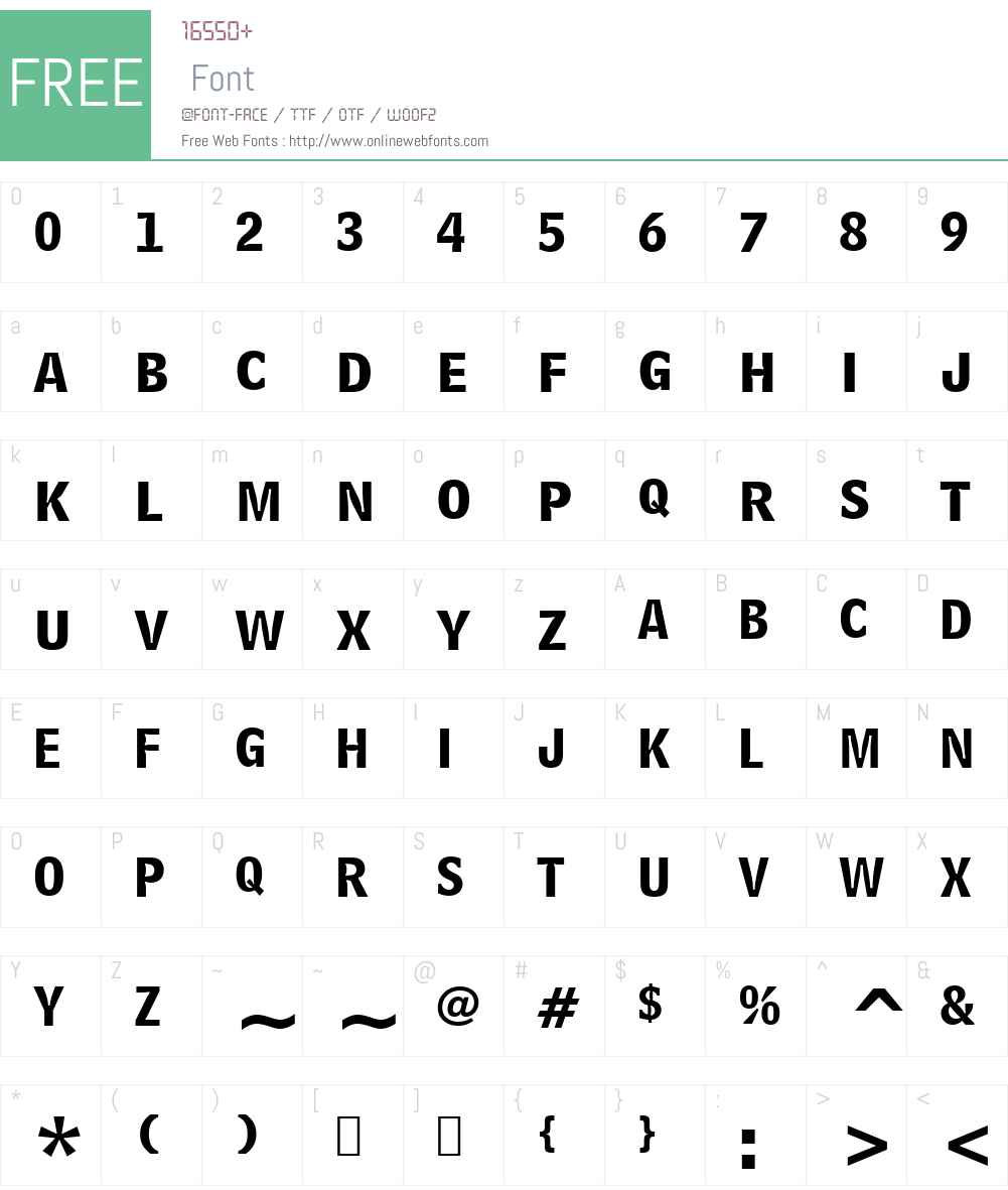BellCent BdList BT Font Screenshots