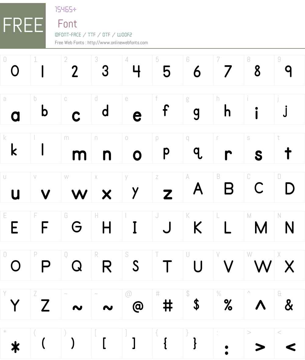 Primer Font Screenshots