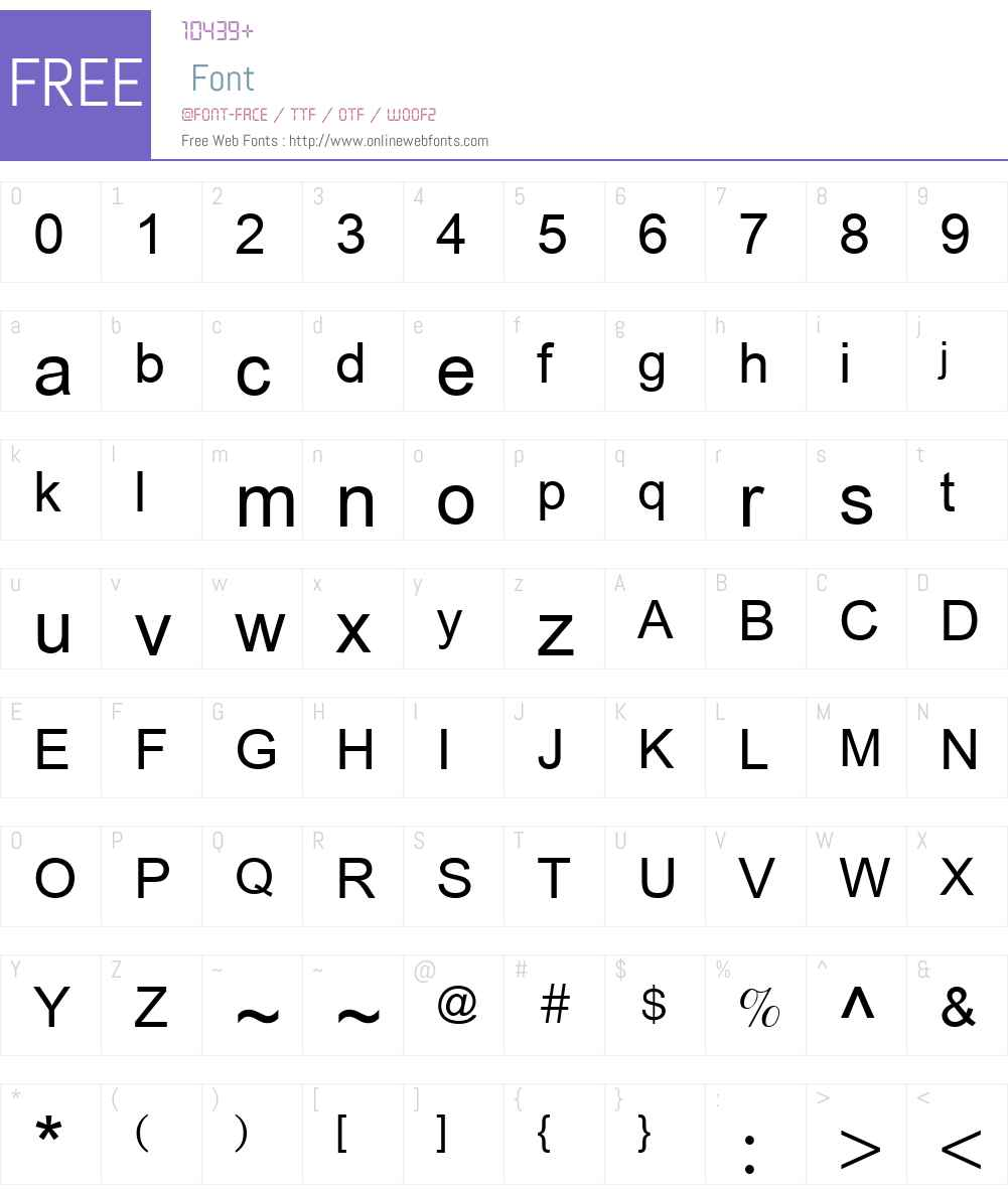 Anlongvill Khek1 Font Screenshots