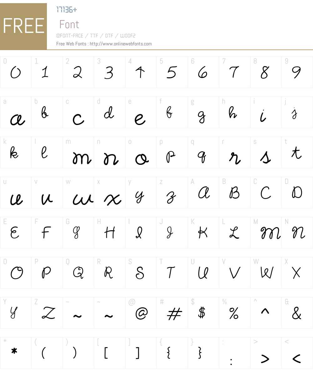 CK Letter Home Font Screenshots