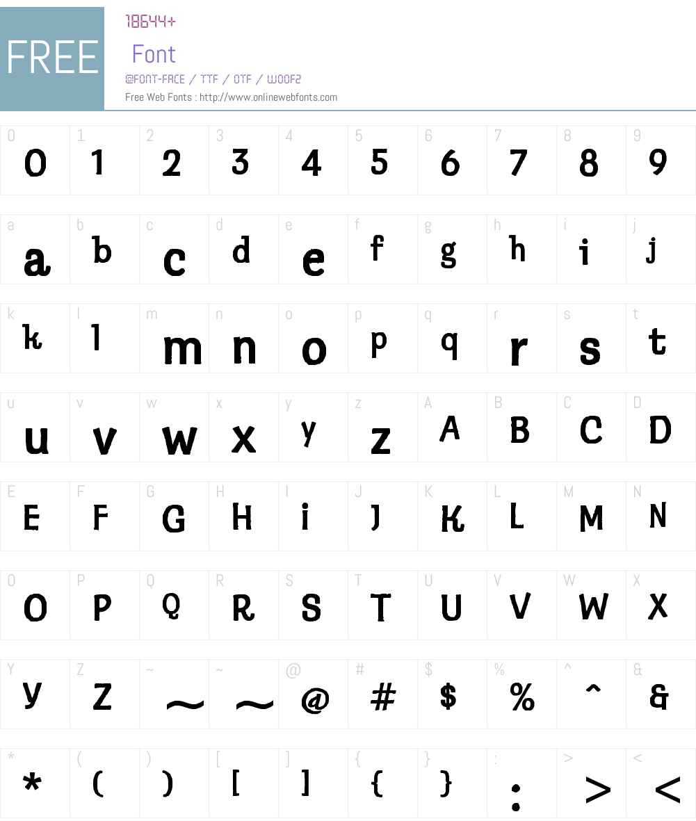 ITC Klepto Font Screenshots