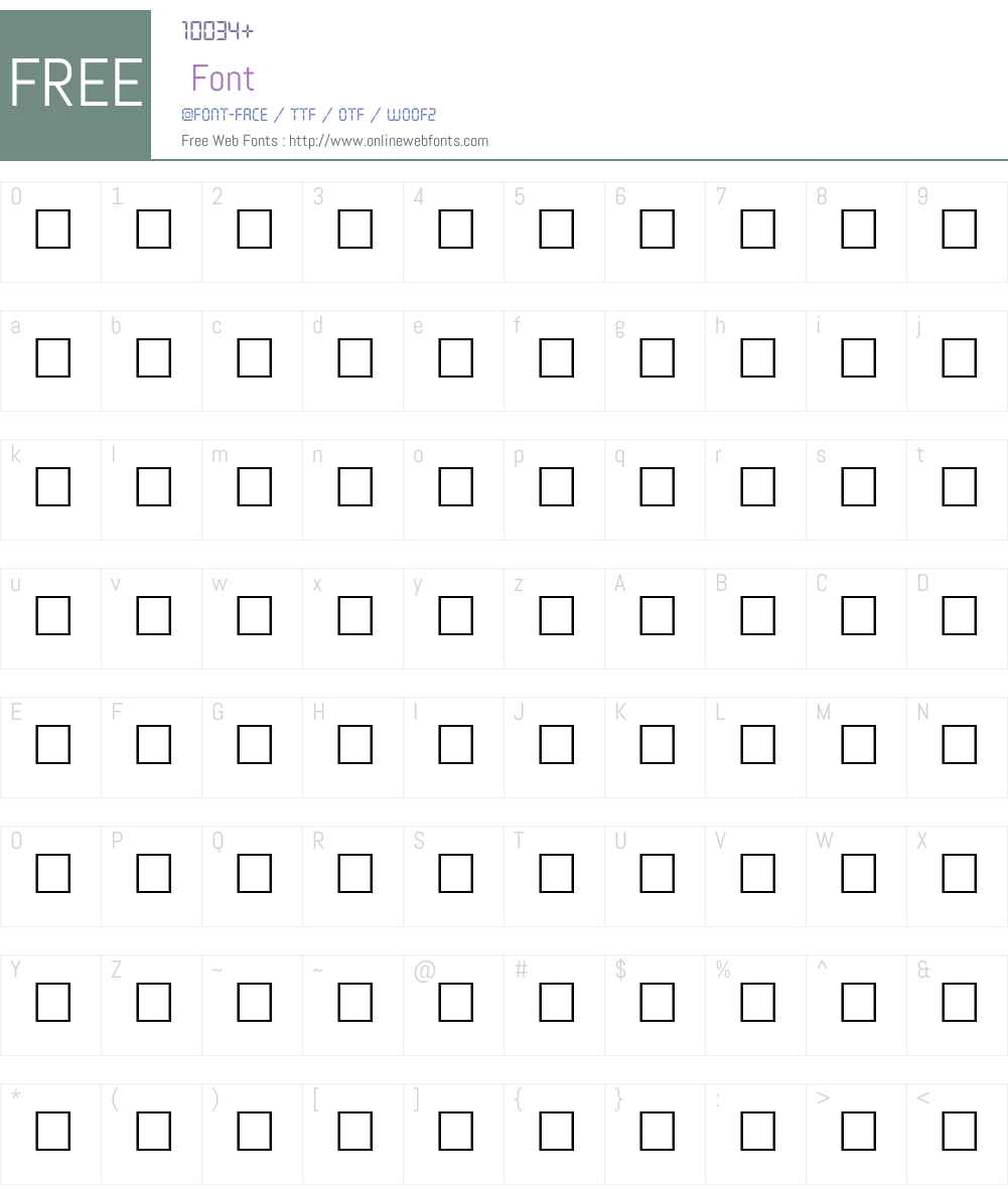 WhirligigOne Font Screenshots