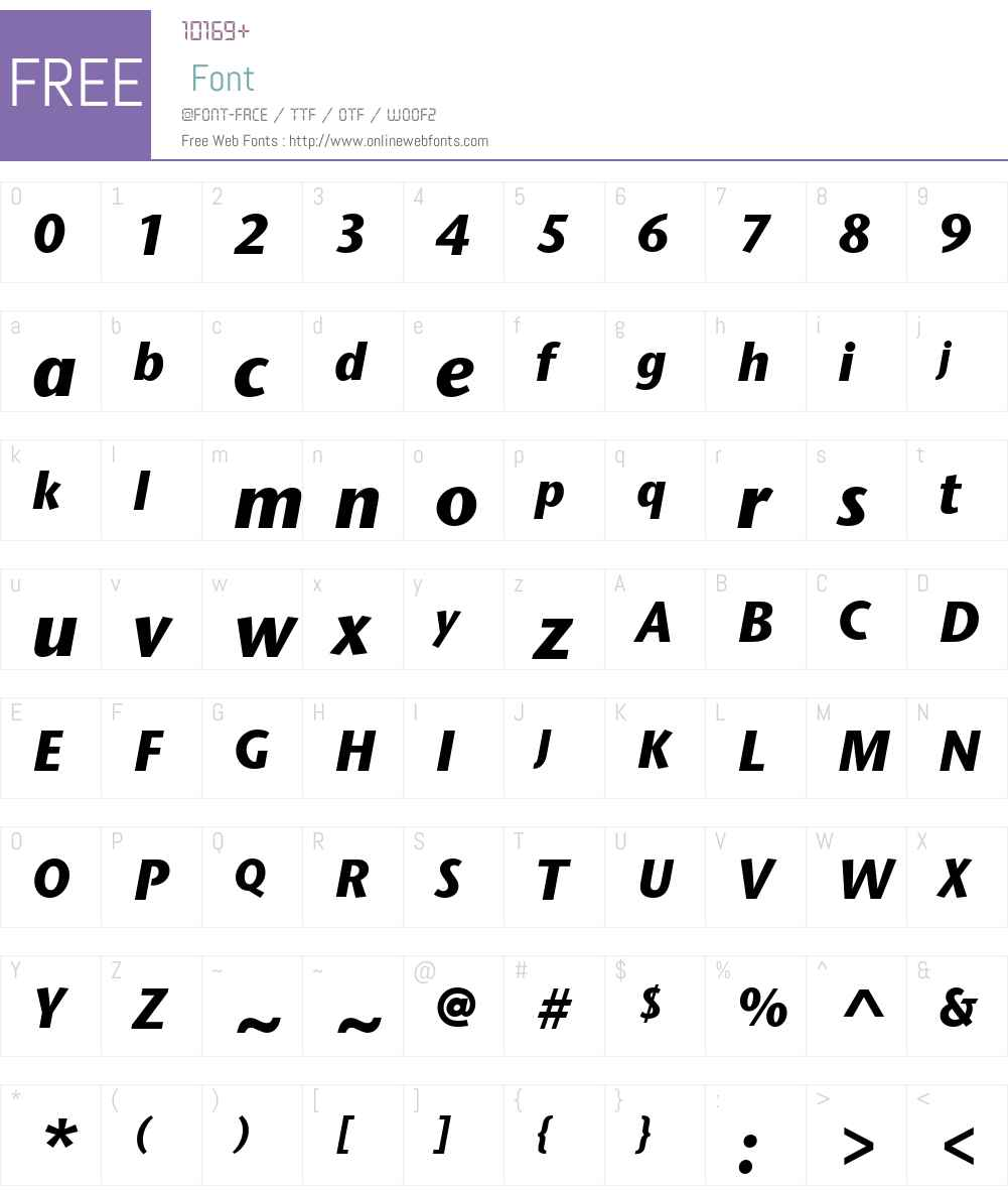 StoneSansIIITCW01-XBdIt Font Screenshots