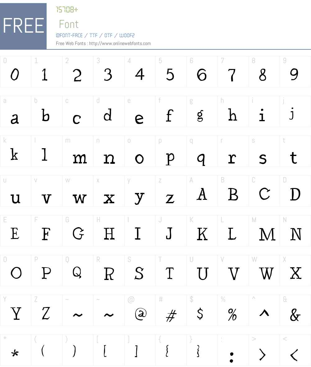 DschoyphulW00-Regular Font Screenshots