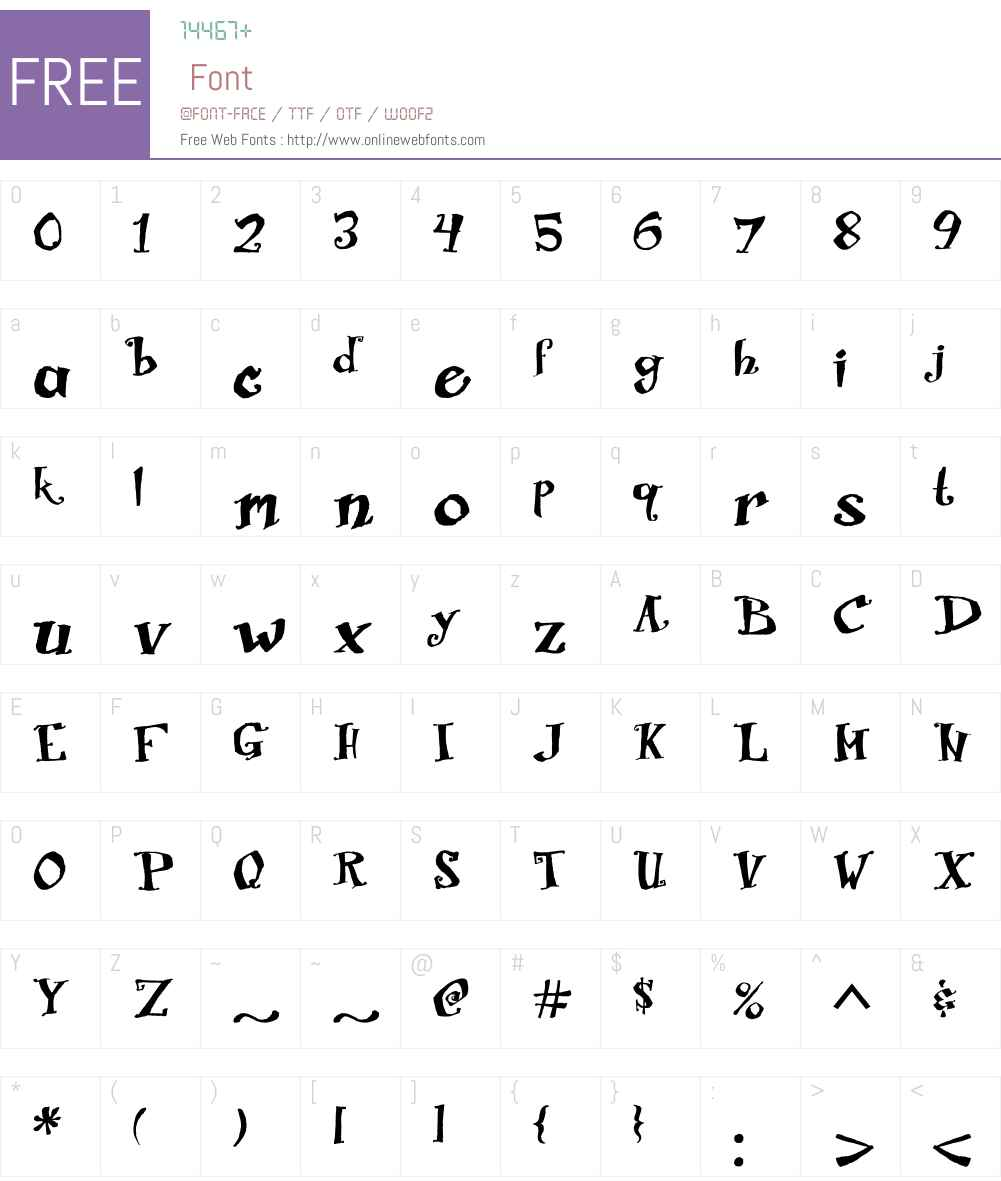 Biscuit Boodle Font Screenshots