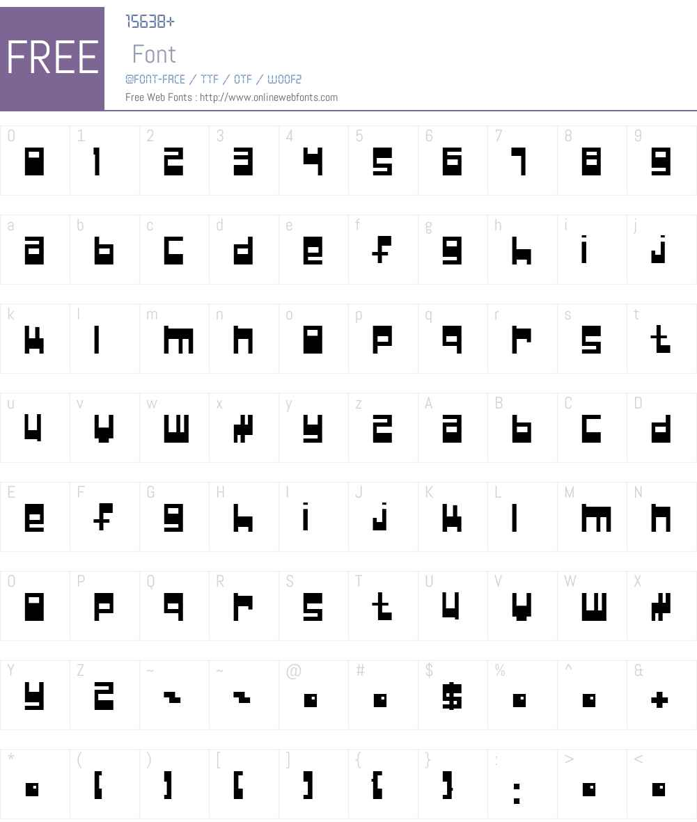 Null Pointer; Font Screenshots