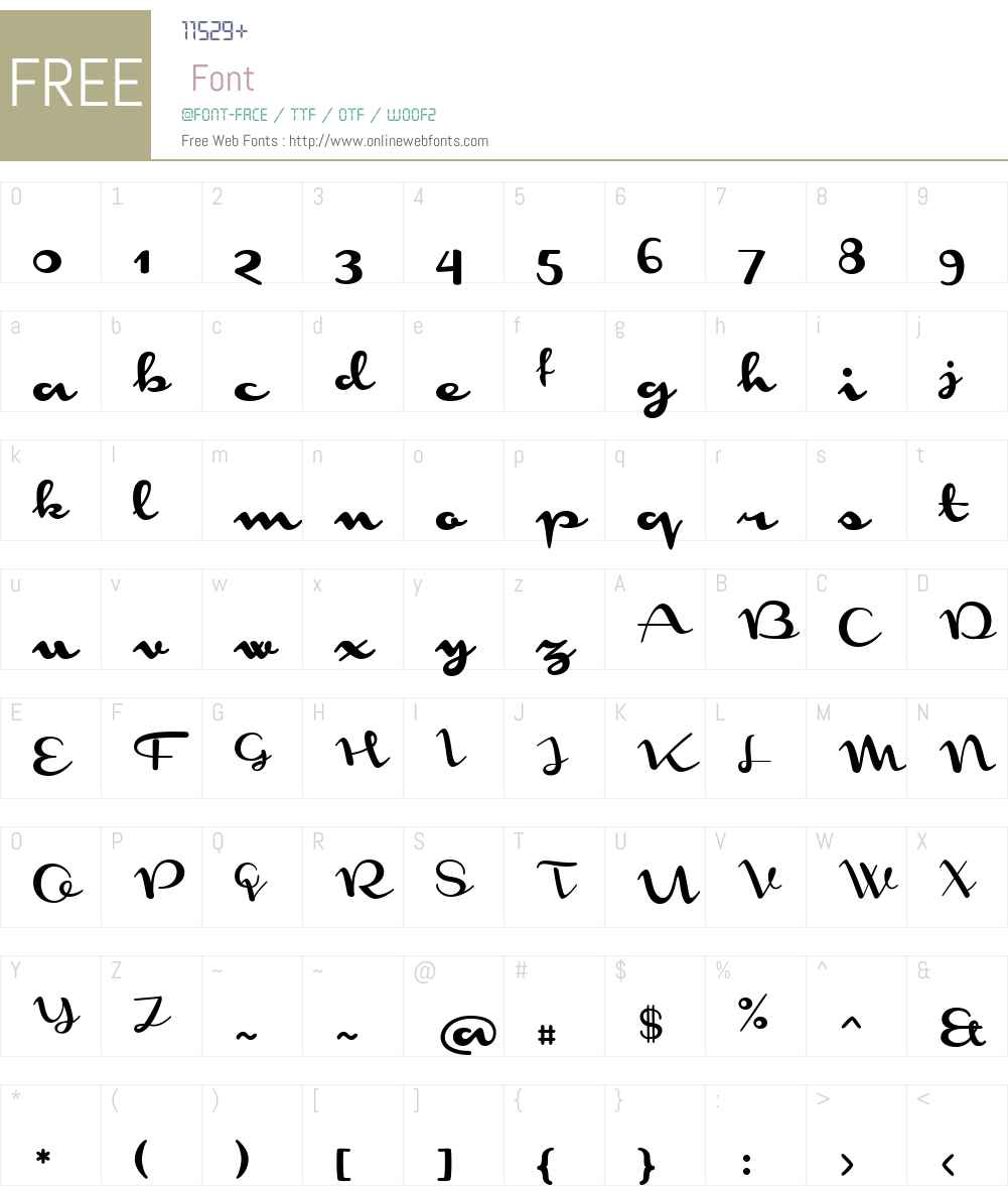 MonomentW03-Regular Font Screenshots