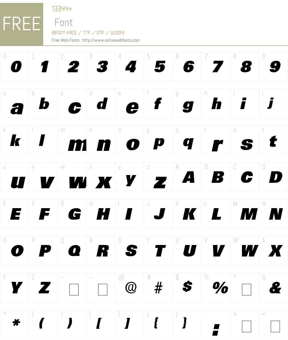 Mercat Display SSi Font Screenshots