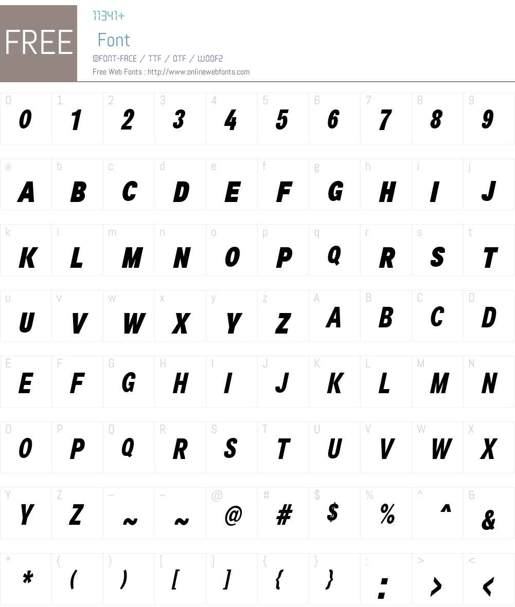 Air Font Screenshots