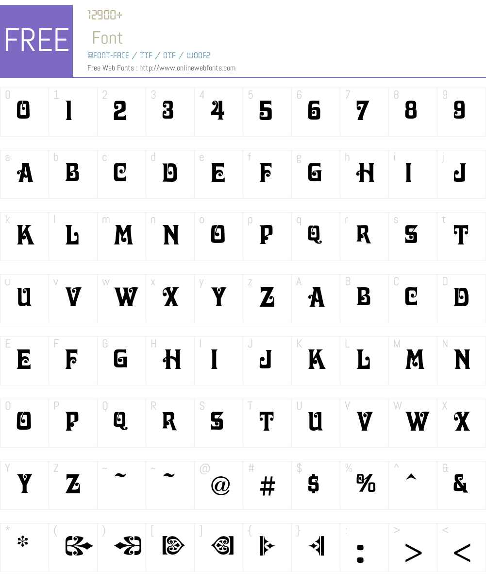 Davida Font Screenshots