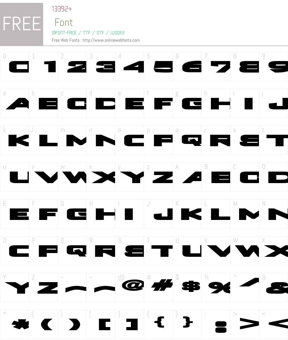 Plain o matic Font Screenshots