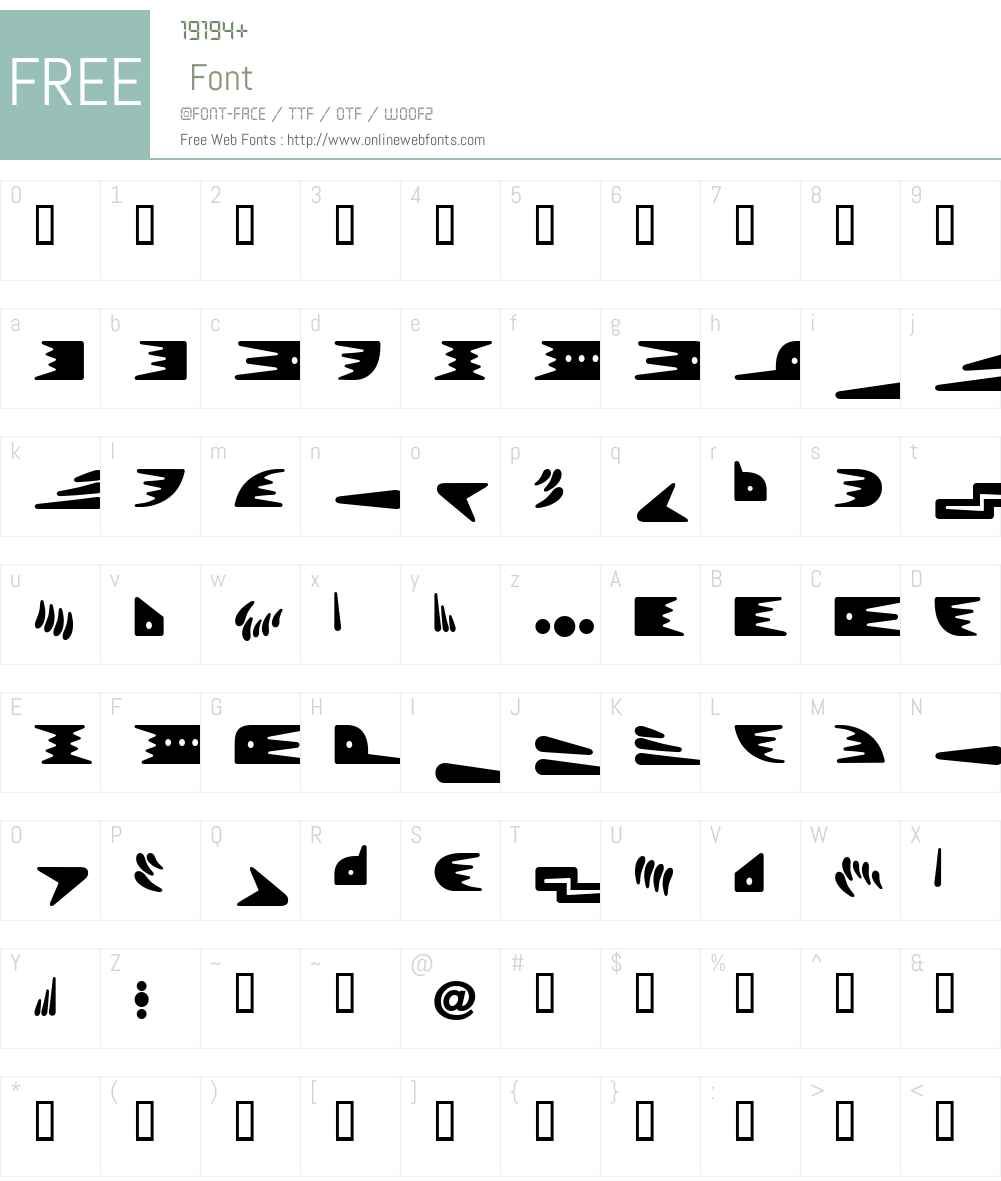 Bronz Font Screenshots