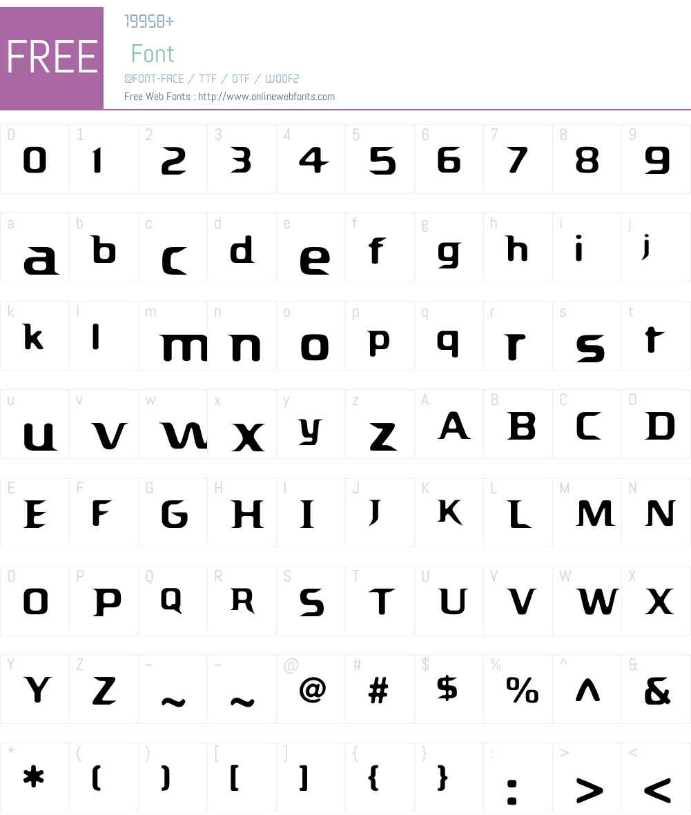 Promethian Regular Font Screenshots