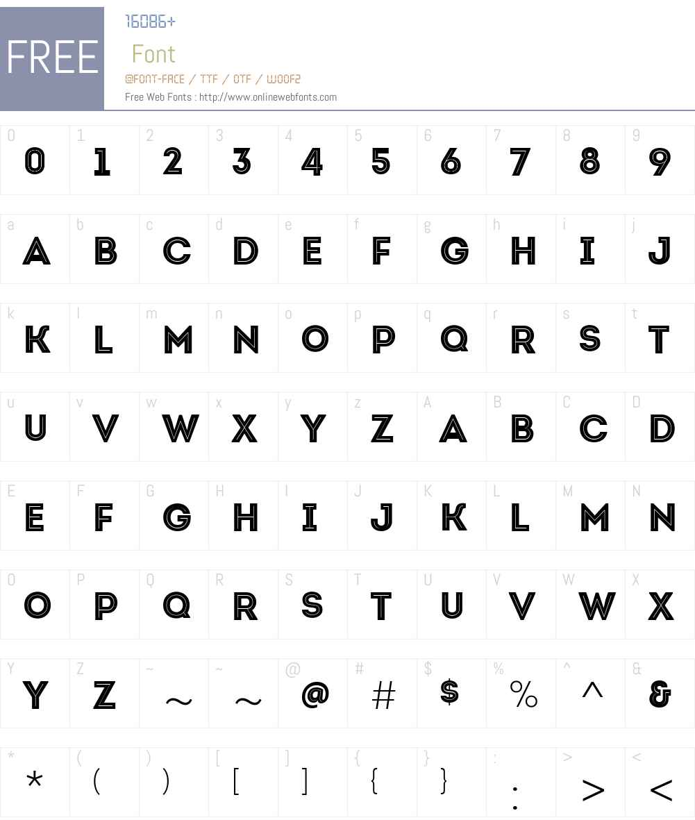 IntroW01-BlackInlineCaps Font Screenshots