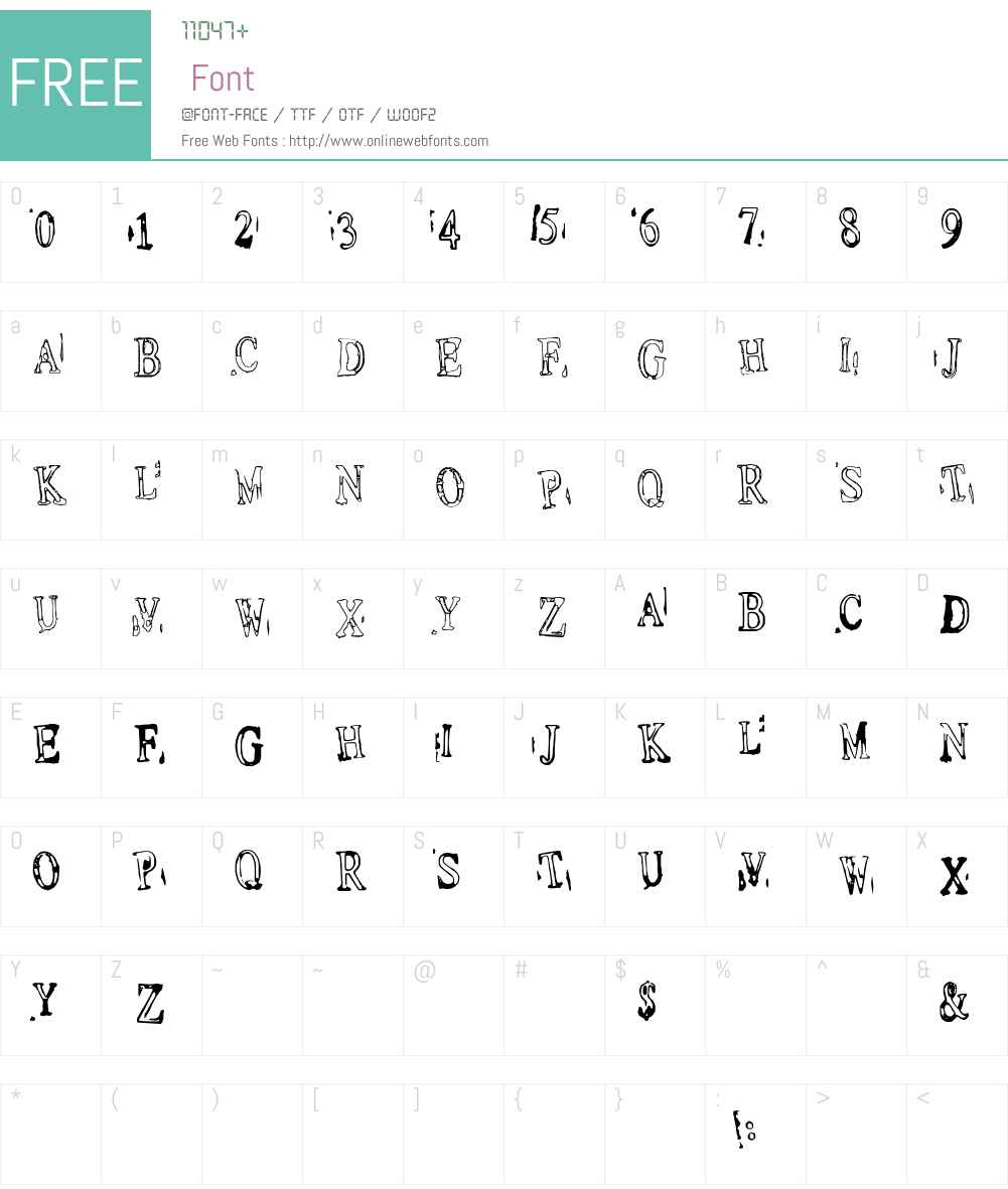 fz-wencang-030 Font Screenshots