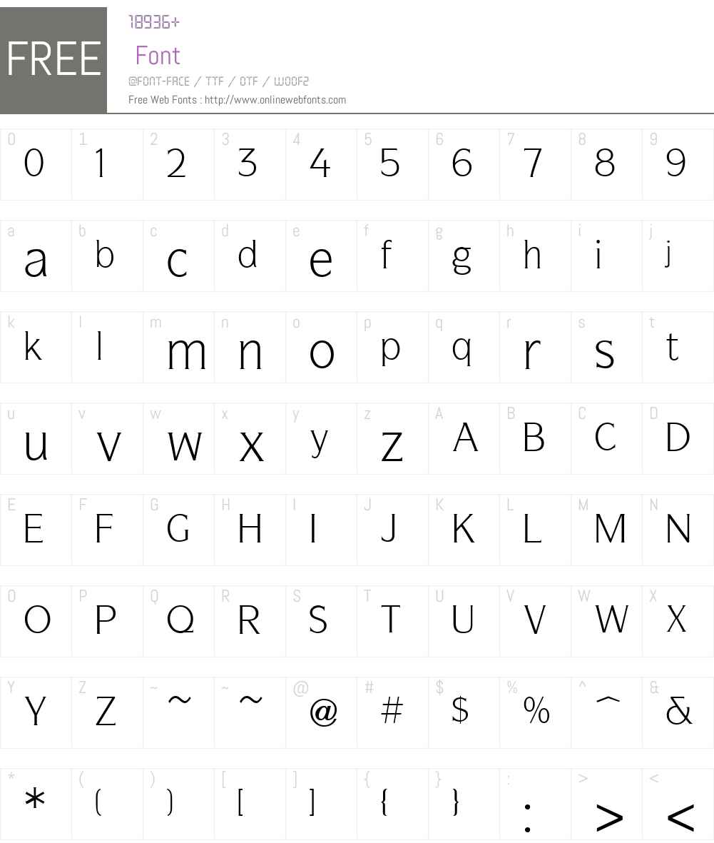 Symbol Font Screenshots