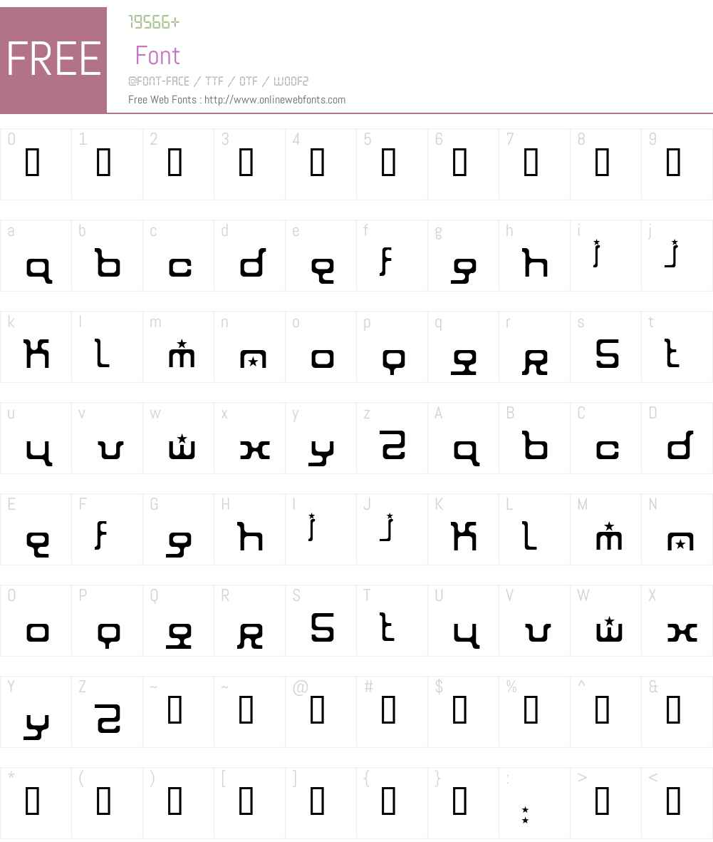 ion Font Screenshots