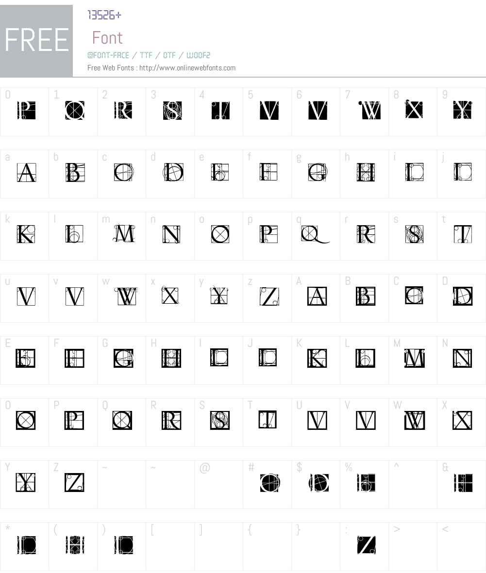 Neudoerffer Font Screenshots