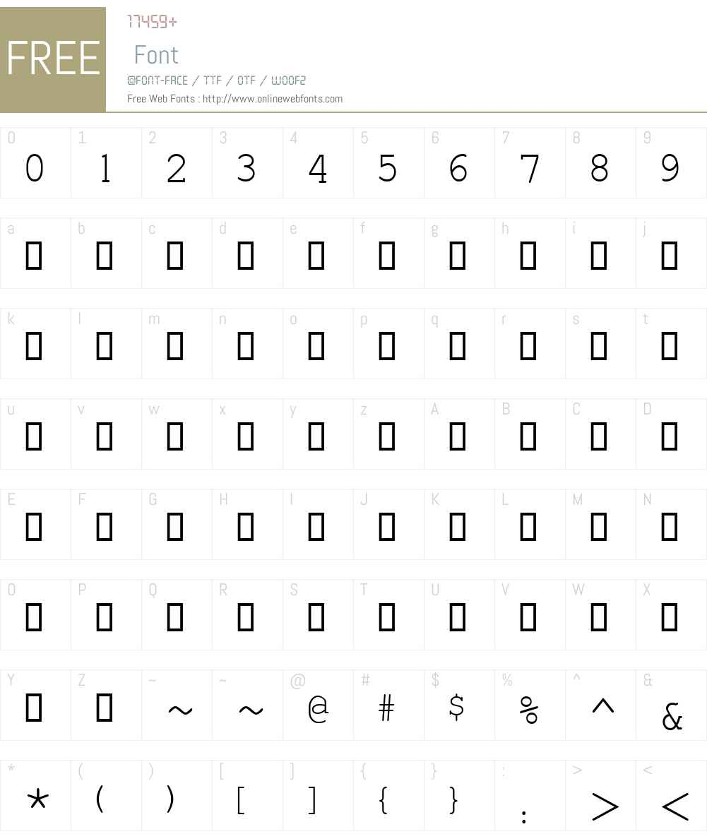 Estrangelo Edessa Font Screenshots