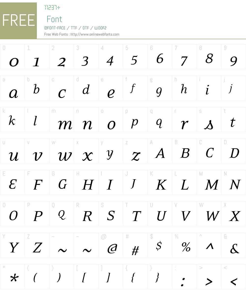 EideticNeo Font Screenshots